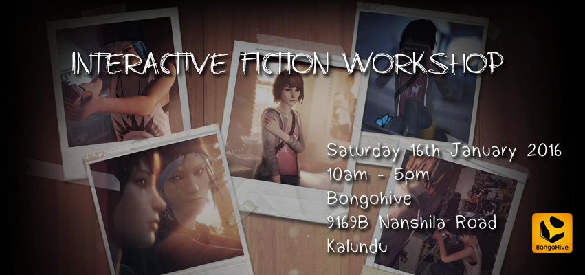 Interactive Fiction Workshop baner